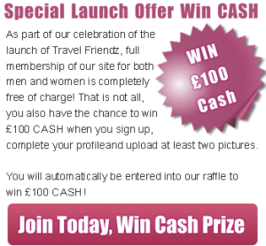 Join Travel Friendz Win Cash
