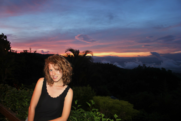 Charlie on Travel in Puriscal at the mountain house sit